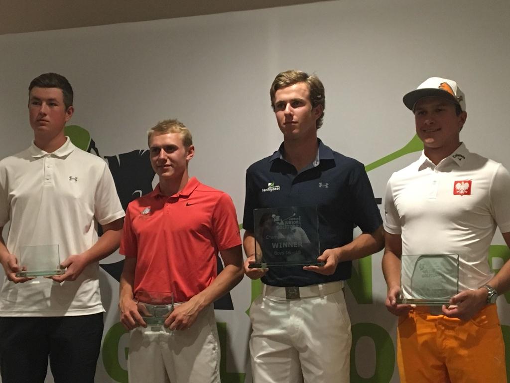 Wielki sukces Michała Bargendy w turnieju golfa