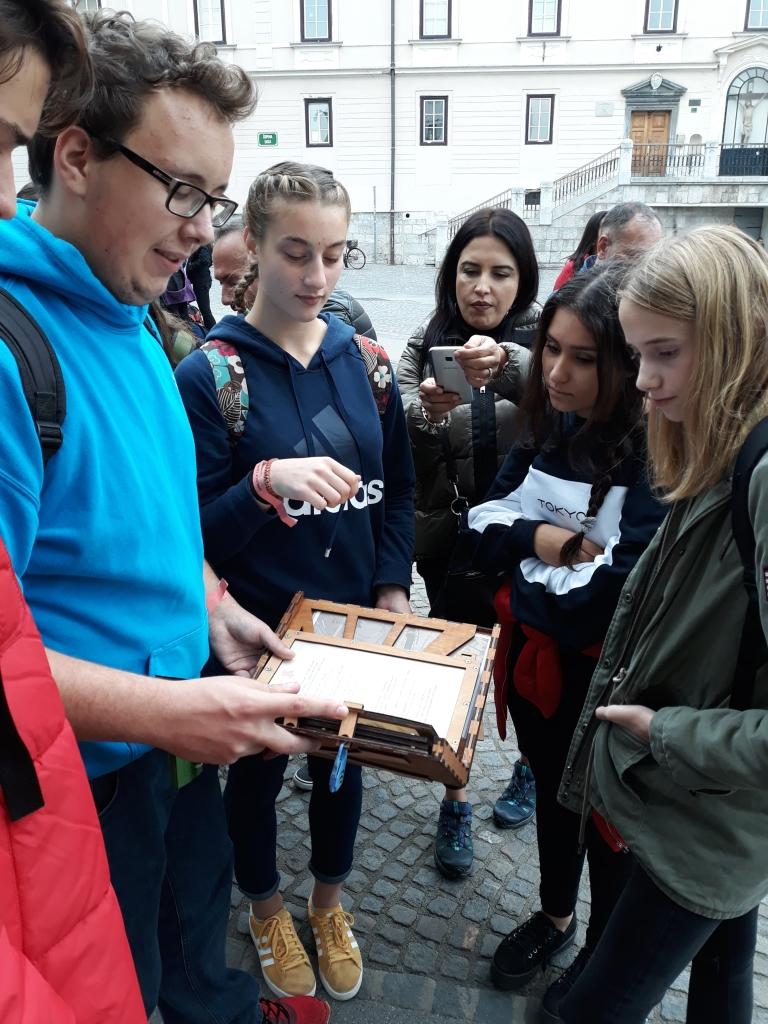 Wyjazd grupy Erasmus+ do Słowenii