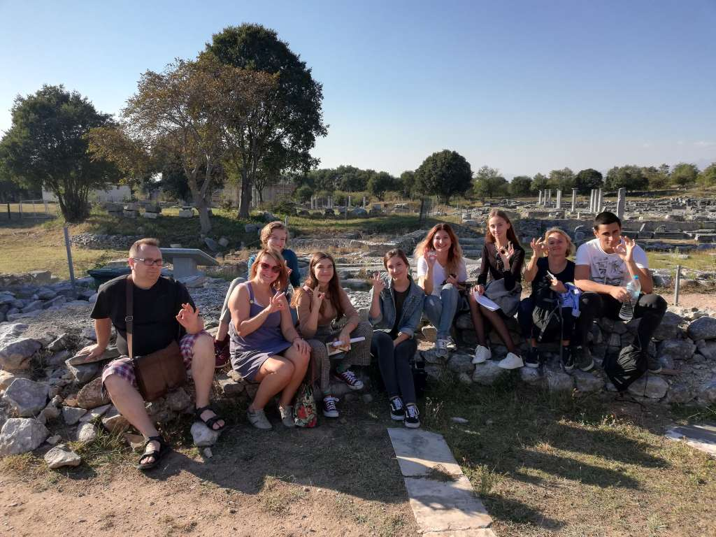 Uczniowie z licealnego projektu Erasmus+ w Grecji