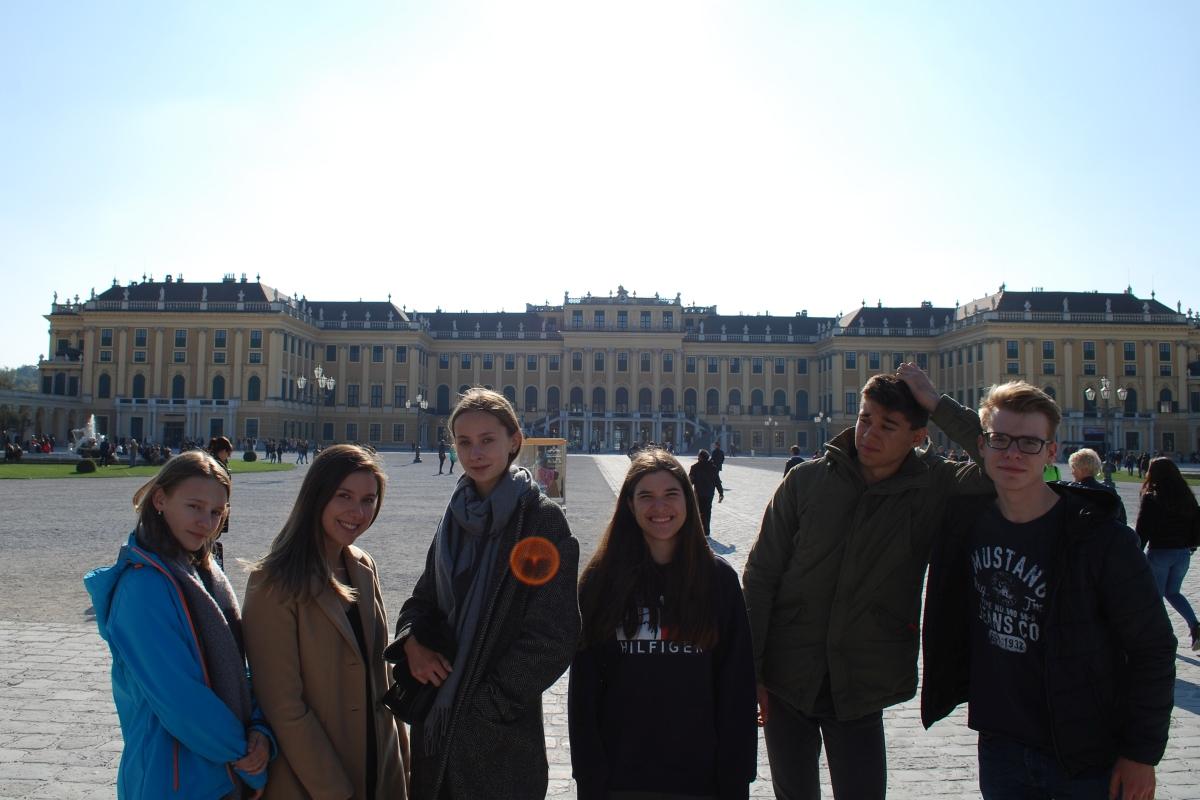 Uczniowie naszego liceum w Strasburgu