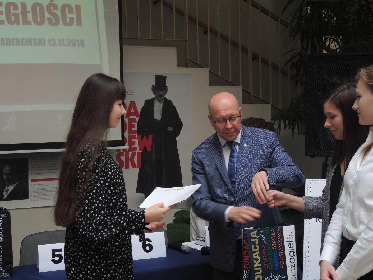 Świętowanie 100. rocznicy odzyskania niepodległości i finał konkursu o Paderewskim