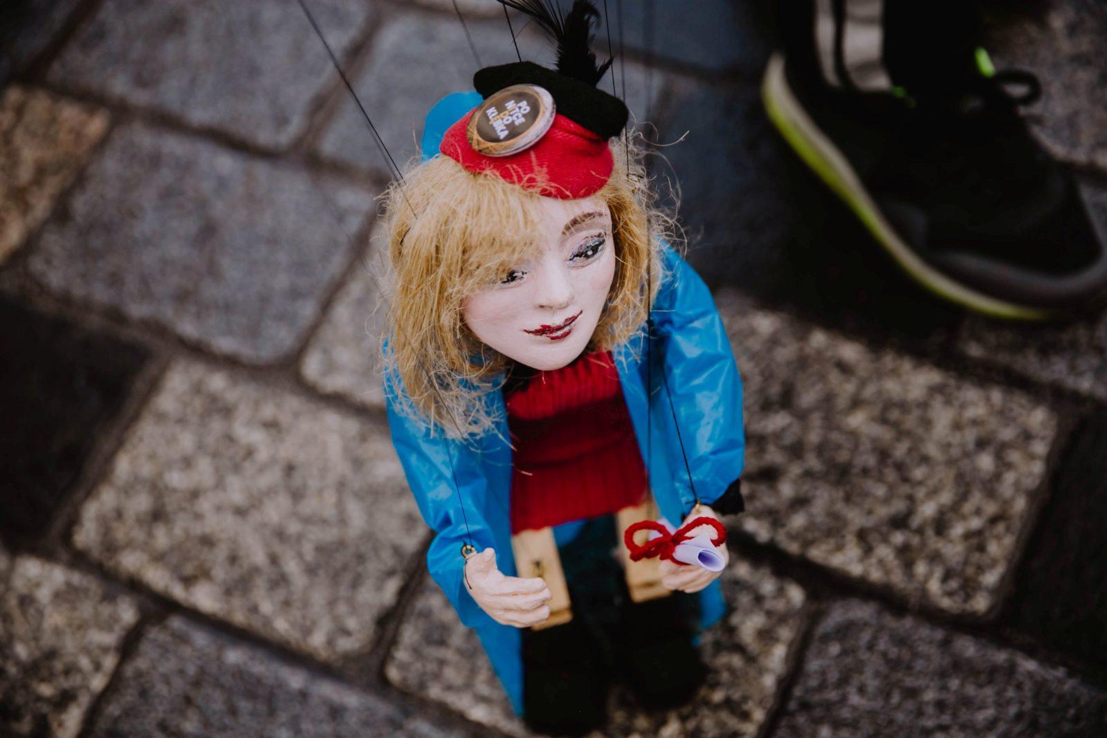Przedstawienie Marionetki