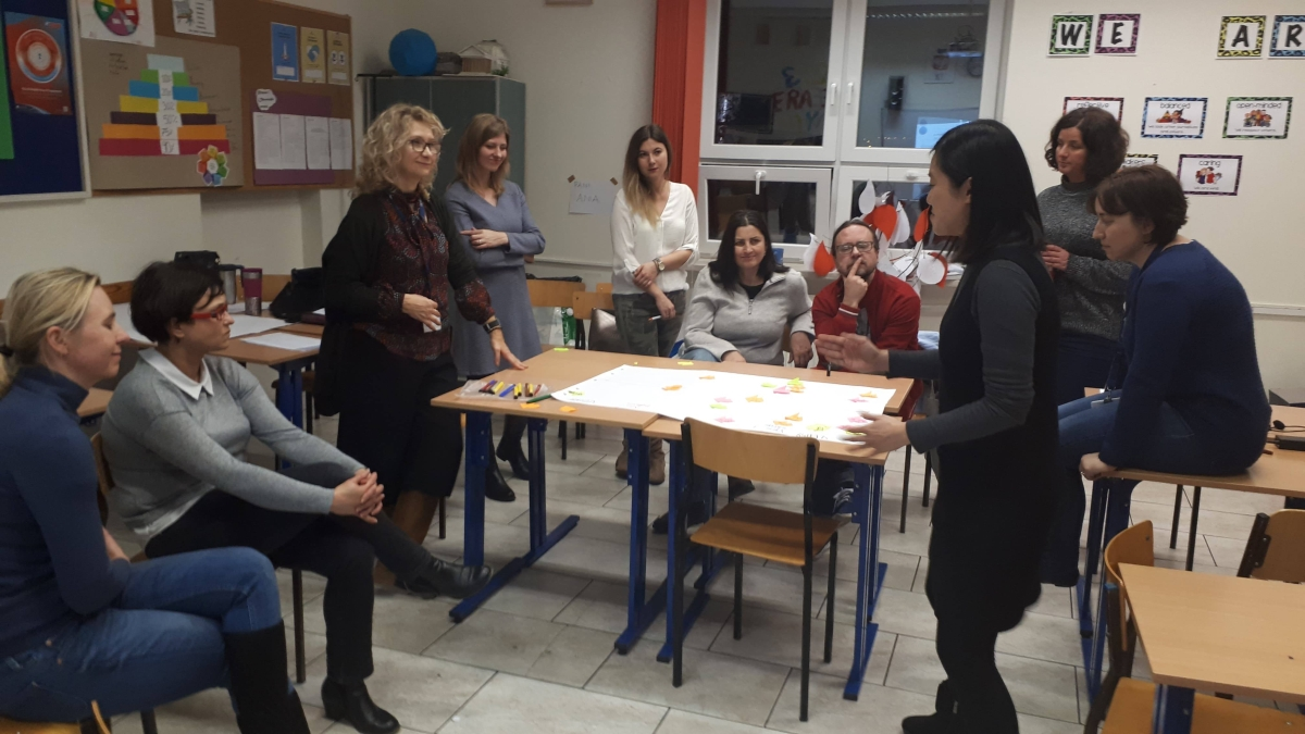 "Wizyta w ramach projektu IB ""Formative Assessment in DP"""