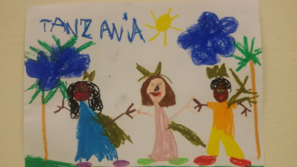 Tanzania oczami pierszaków