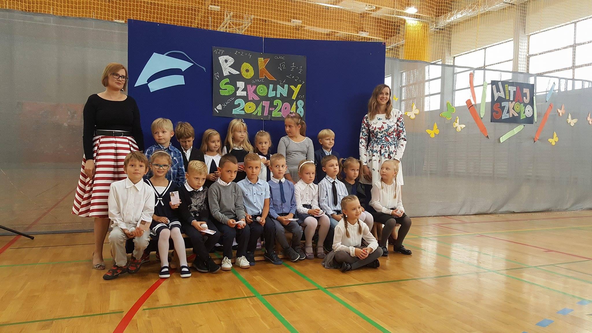 uczniowie klasy 1c