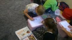 prace dzieci z klas III
