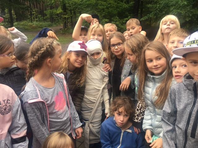 zielona szkoła w Janowie