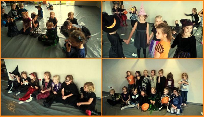 zabawa z okazji Halloween
