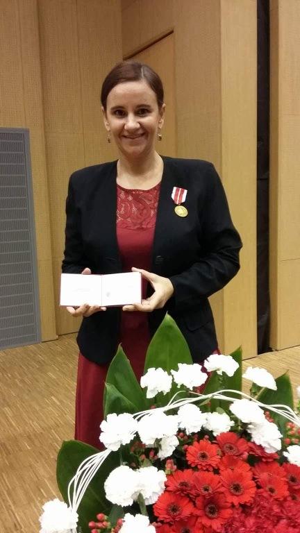 medal dla E.Niczyporuk