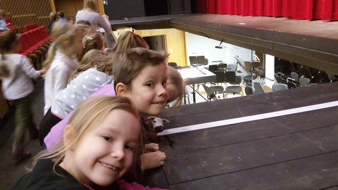 wyjście do Teatru Muzycznego