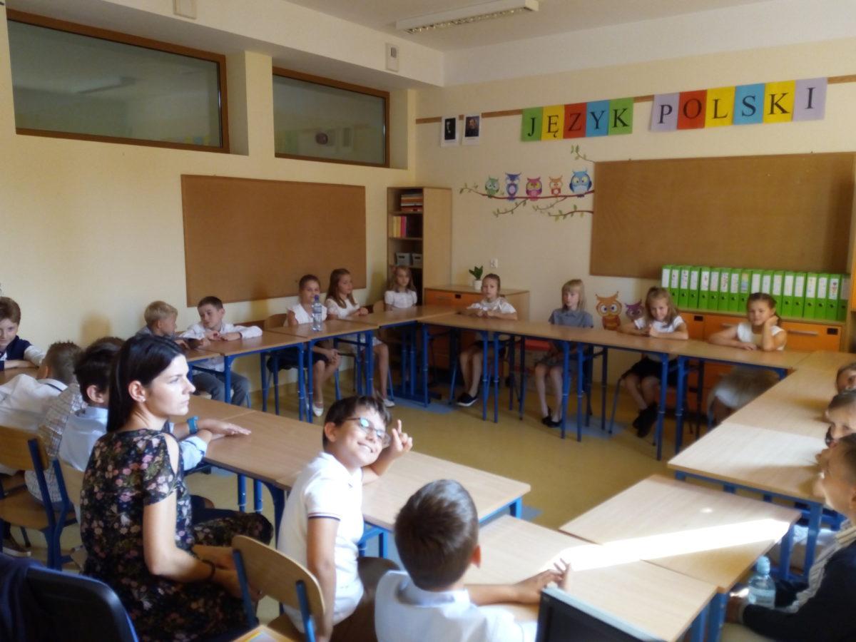 klasa 4d podczas zajęć integracyjnych