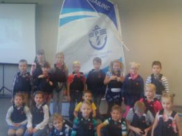 Spotkanie klas 1-6 z klubem żeglarskim