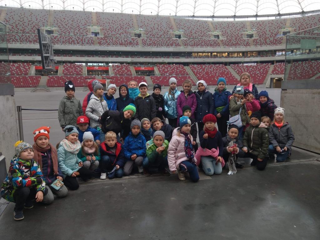 Wycieczka klasy 2a i 2c do Warszawy