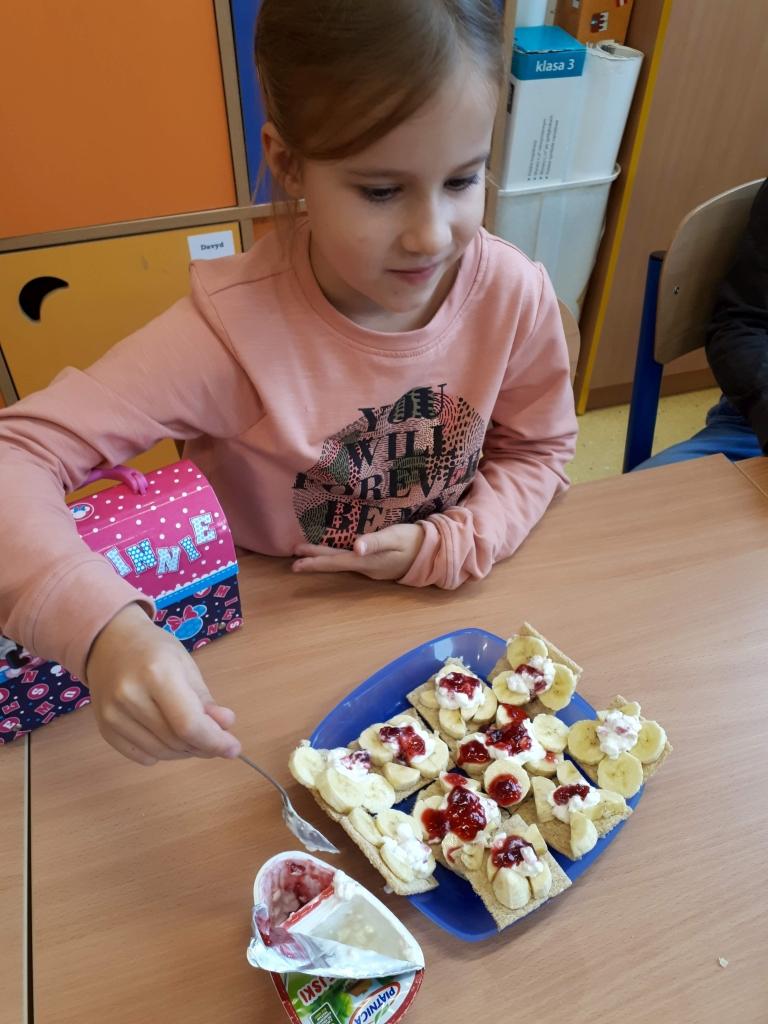 Zdrowe odżywianie w klasie 2c