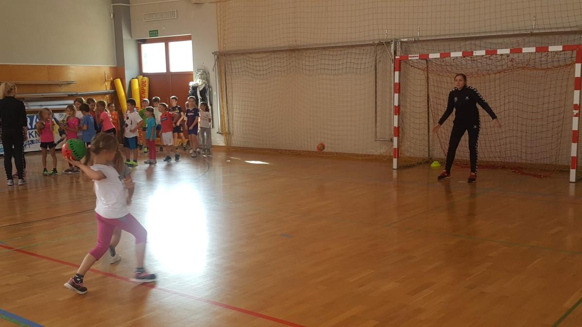 Spotkanie z piłkarkami ręcznymi z MKS Lublin