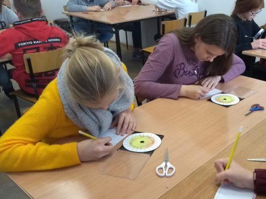 Uczniowie 7B uczyli się szyfrowania