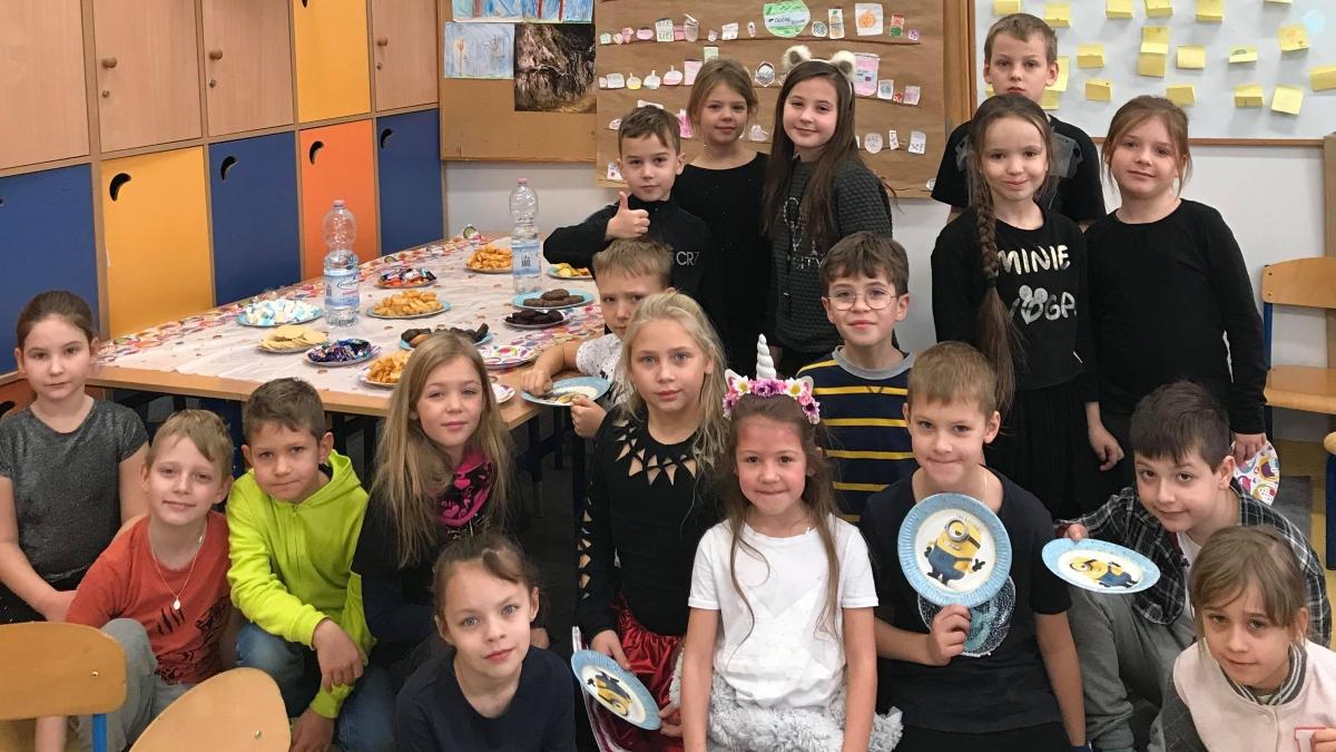 Andrzejki w klasach 1-3