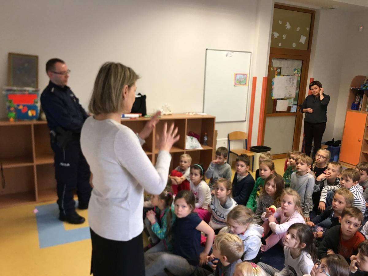 Bezpieczny uczeń – policja w klasach 1-3